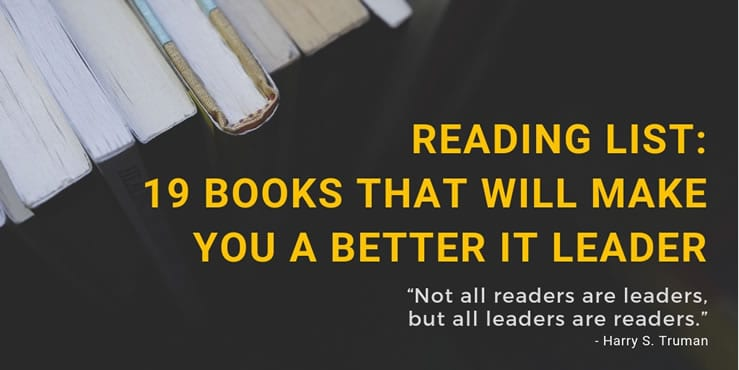 19 books that will make you a better IT leader